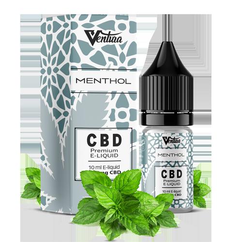CBD Liquid Menthol/Menthol von Ventura-Germany